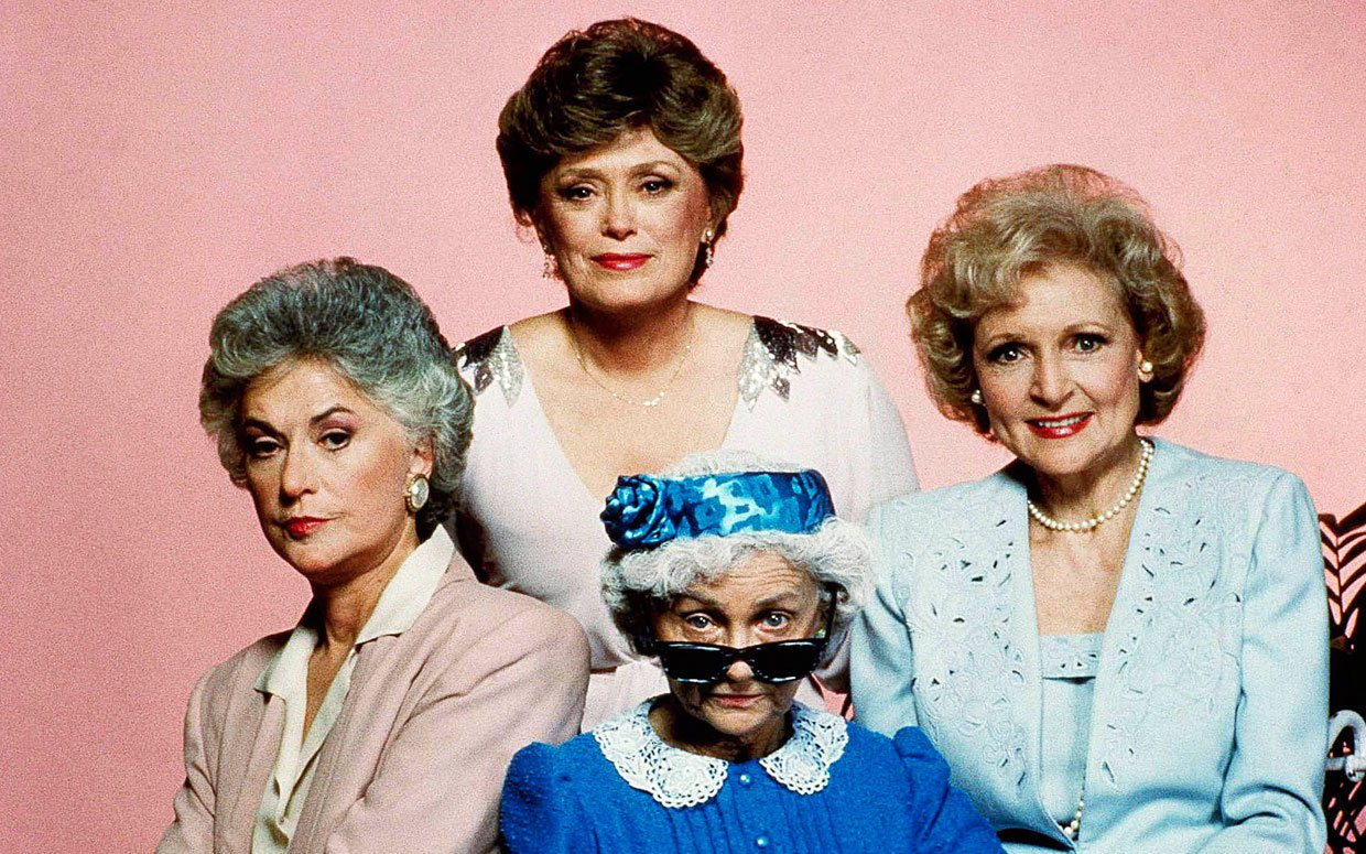 Living It Up With The Golden Girls
