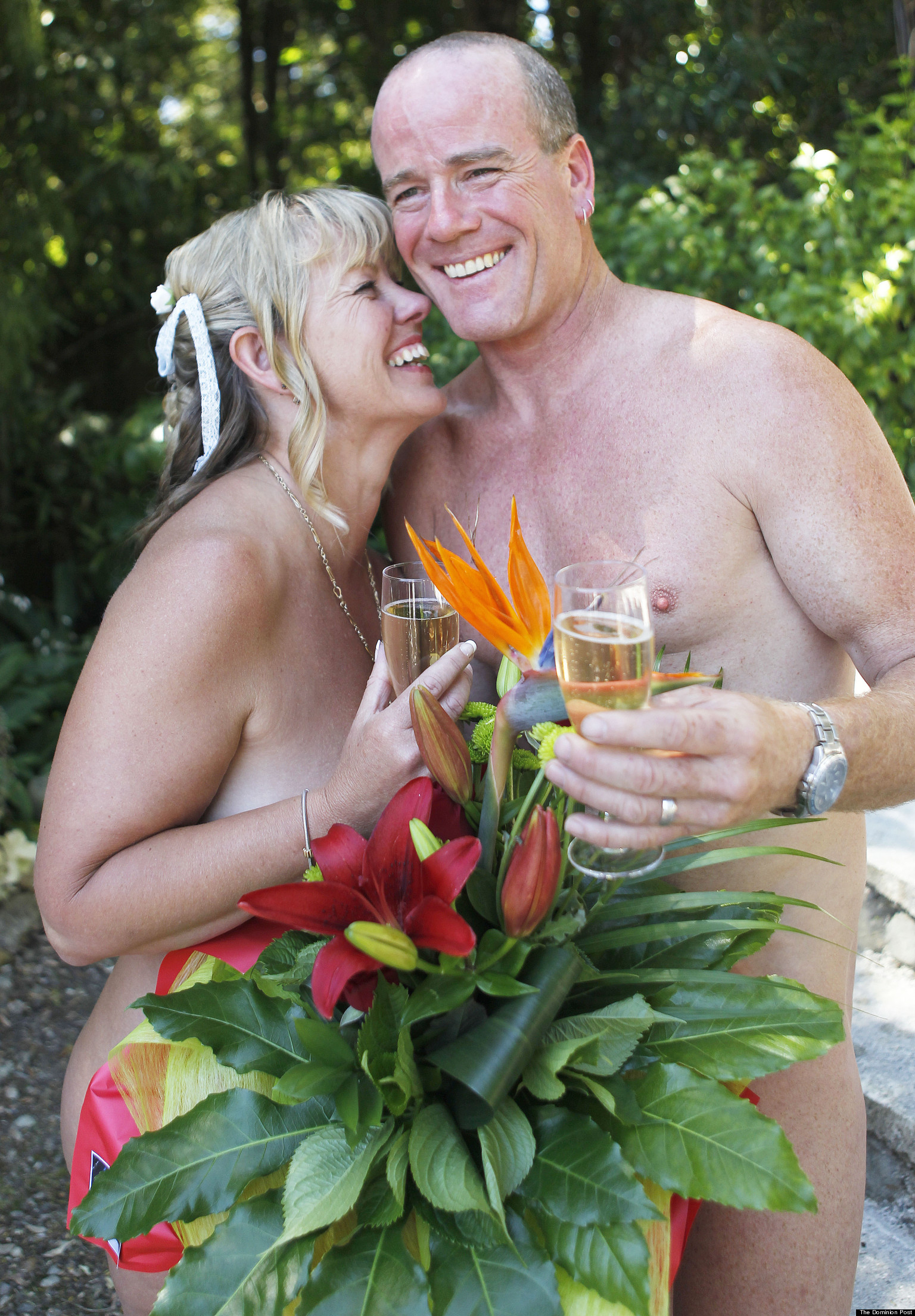 Nude Hawaiian Wedding