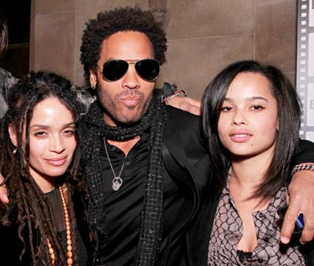 Parents: Lenny Kravitz And Lisa Bonet