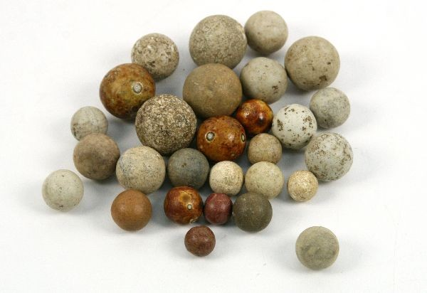 Native American Stone Marbles