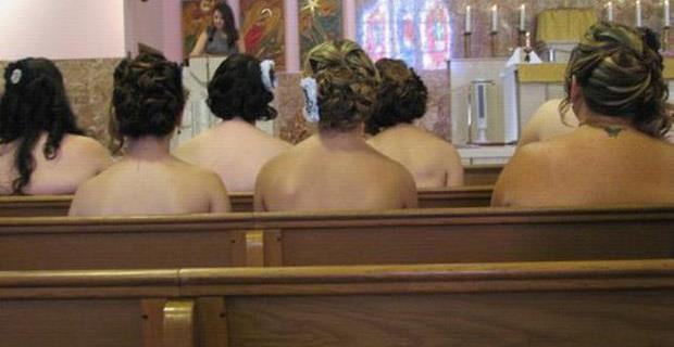 Naked Bridesmaids…