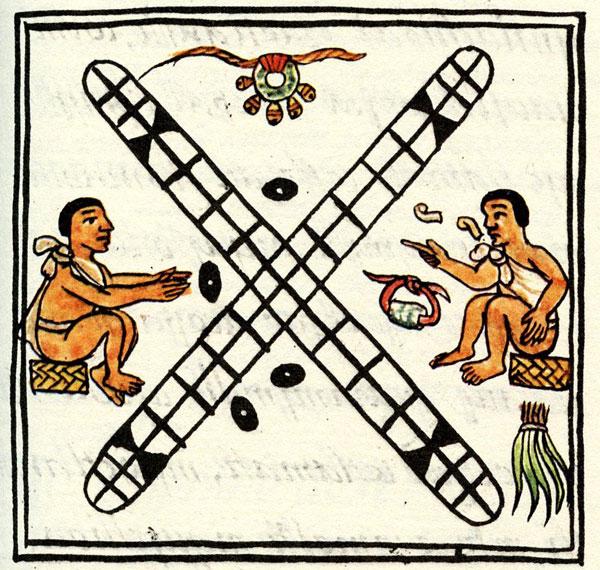 Patolli Game Boards