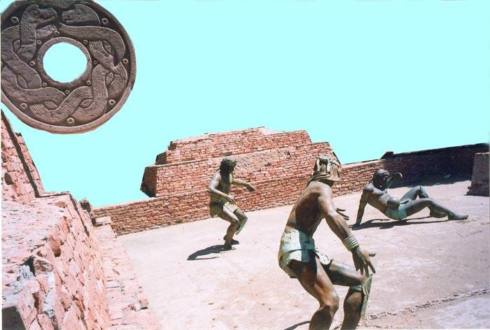 Ancient Aztec Tlachtli