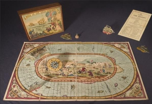 Game Boards Of The Victorian Era