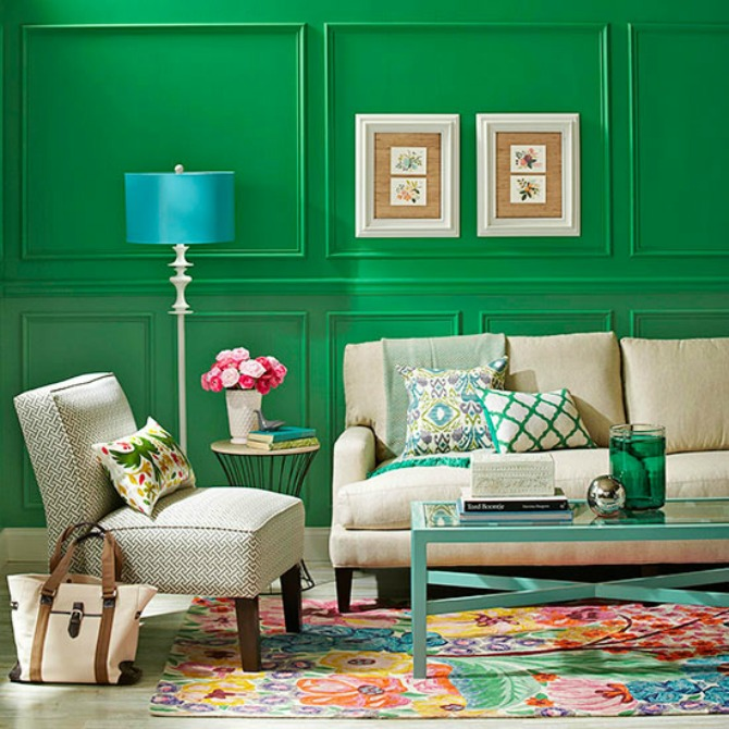 These Amazingly Colorful Rooms Will Inspire You To Paint Your - Find your homes true colors with these living room paint ideas
