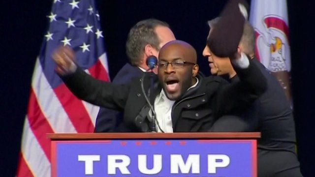 Jedidiah Brown Rushes Trump's Stage