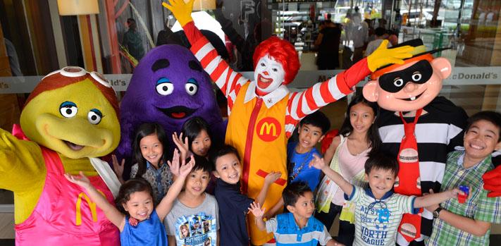 Детский праздник день рождения макдональдс детский праздник день 8 марта