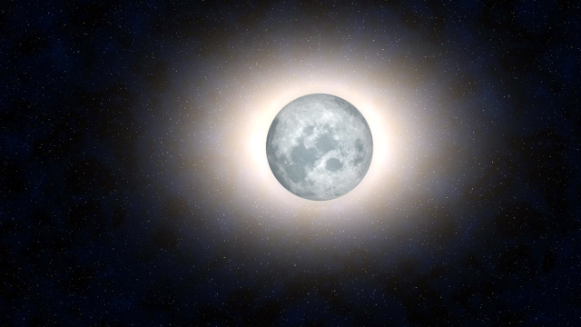 Solar Eclipses weren't always seen on Earth