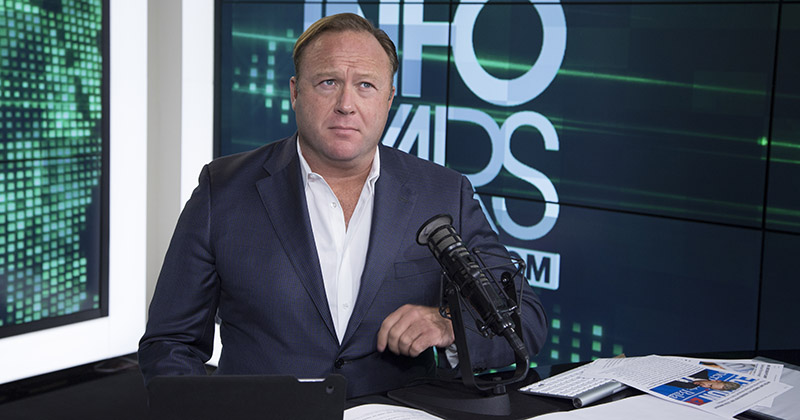 Alex Jones, Again