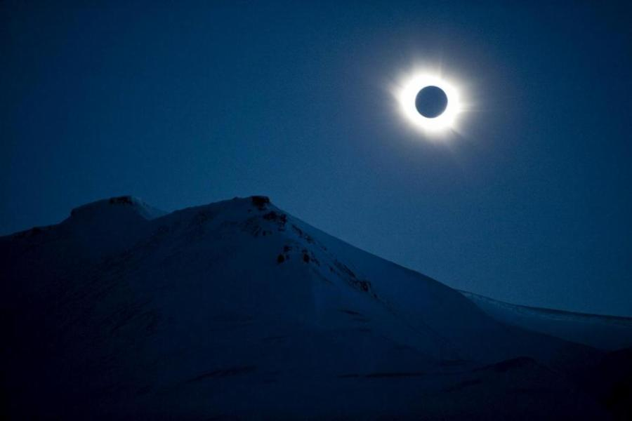 You will Never See a Total Solar Eclipse at the Poles