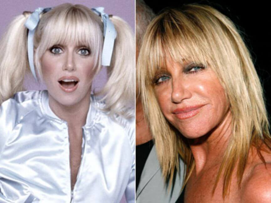 Suzanne Somers: Started as the hottest now she's here
