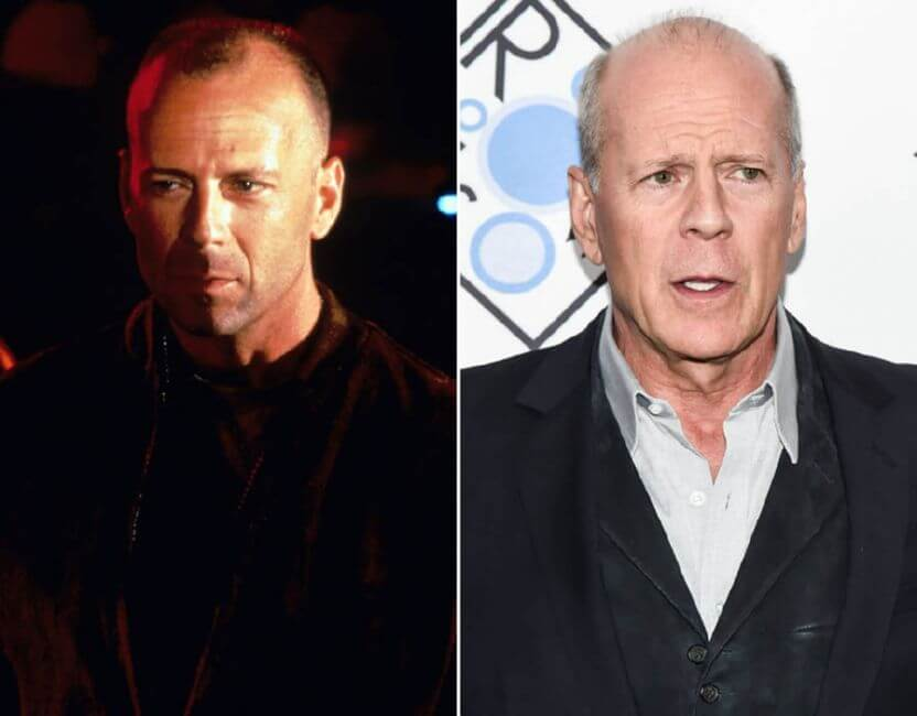 Bruce Willis: He's aged hard