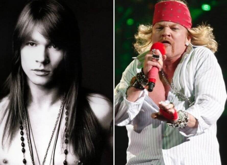 Axl Rose: Well worth the weight