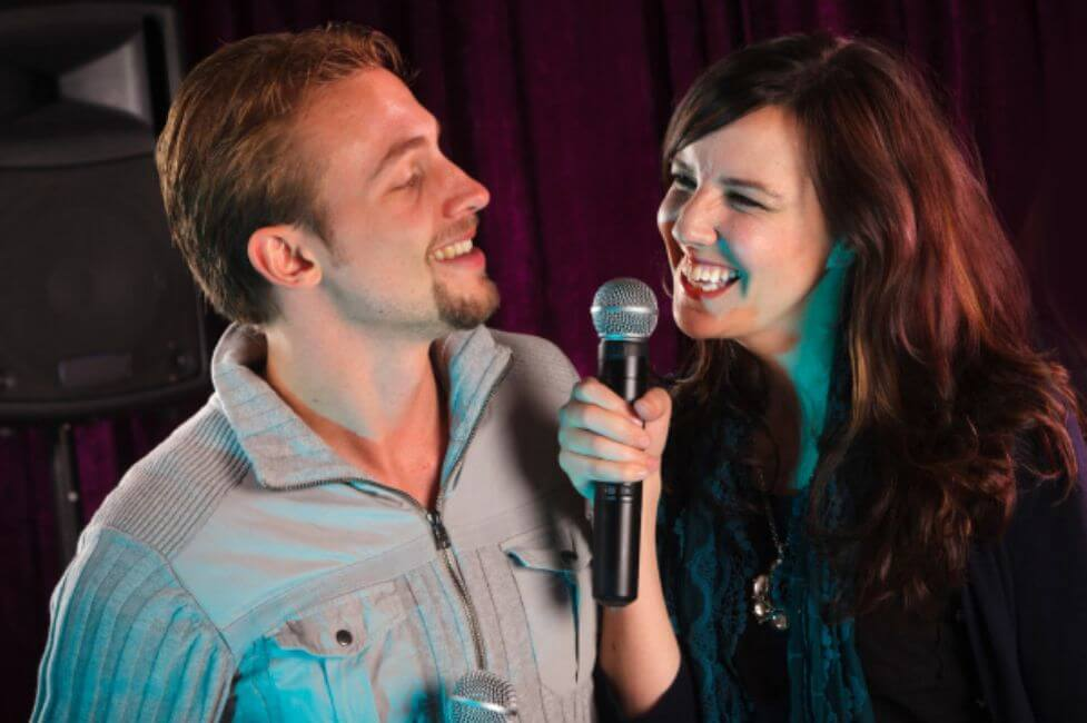 Sing Your Heart out at a Karaoke Bar