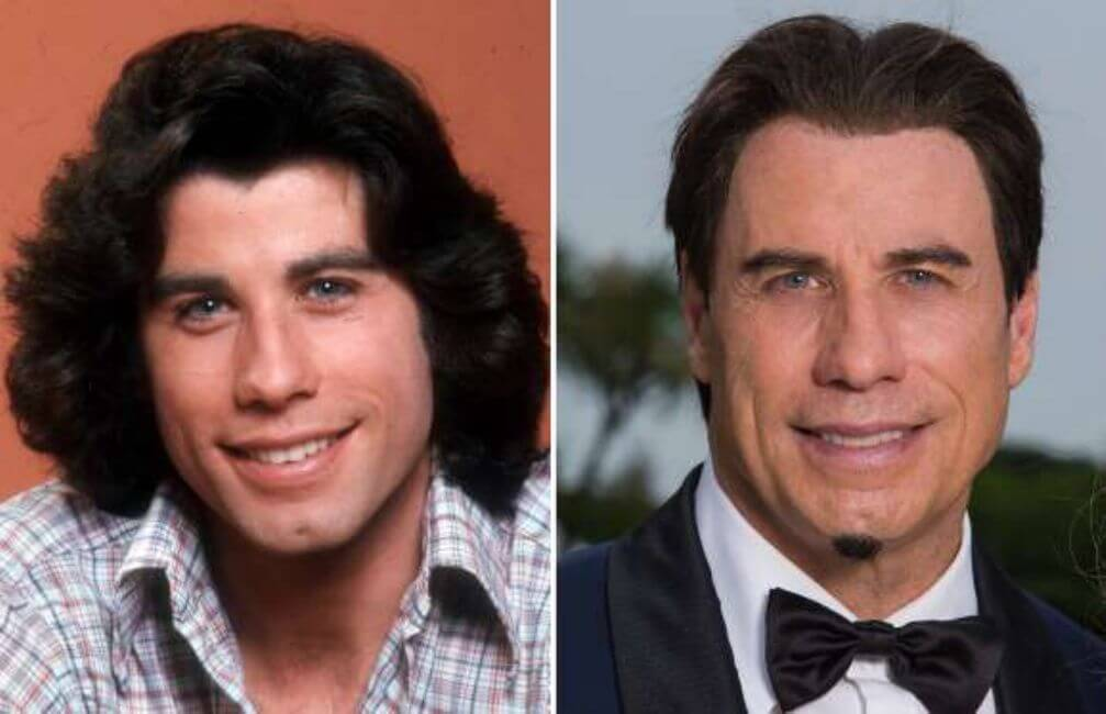 John Travolta: Not as striking as he once was