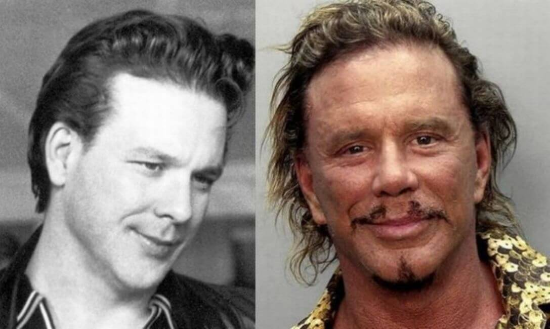 Mickey Rourke: From stud to mud
