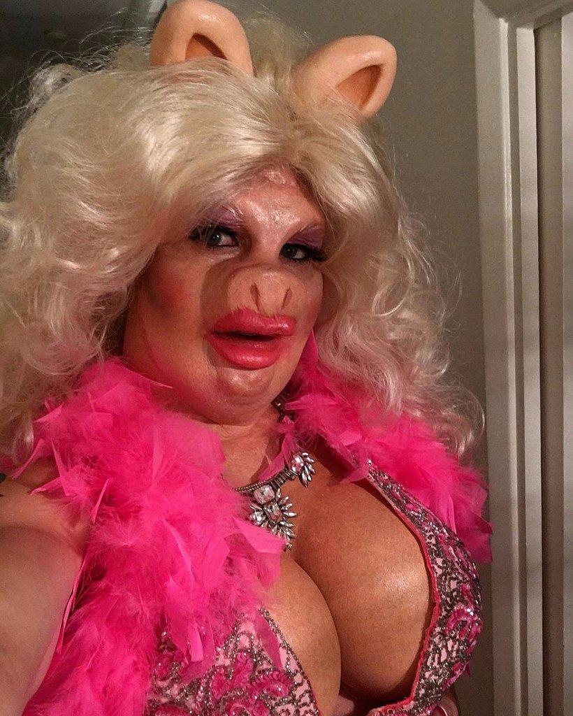 Colton Haynes as Miss Piggy