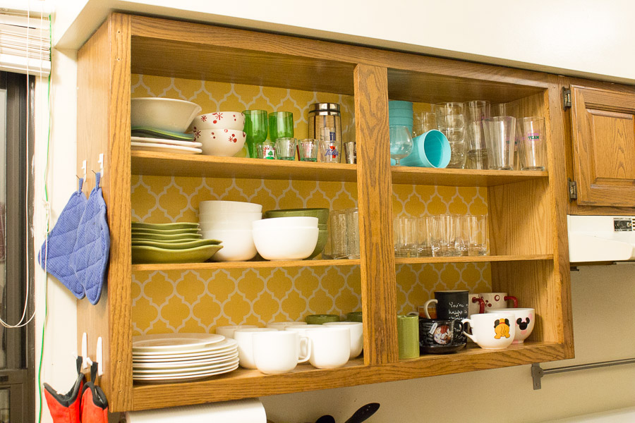 Turn Cabinets into Shelves