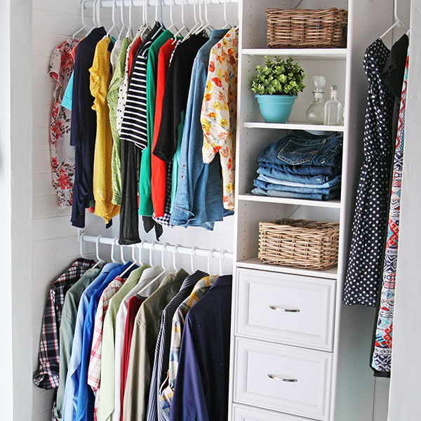 Eliminate Closet Clutter