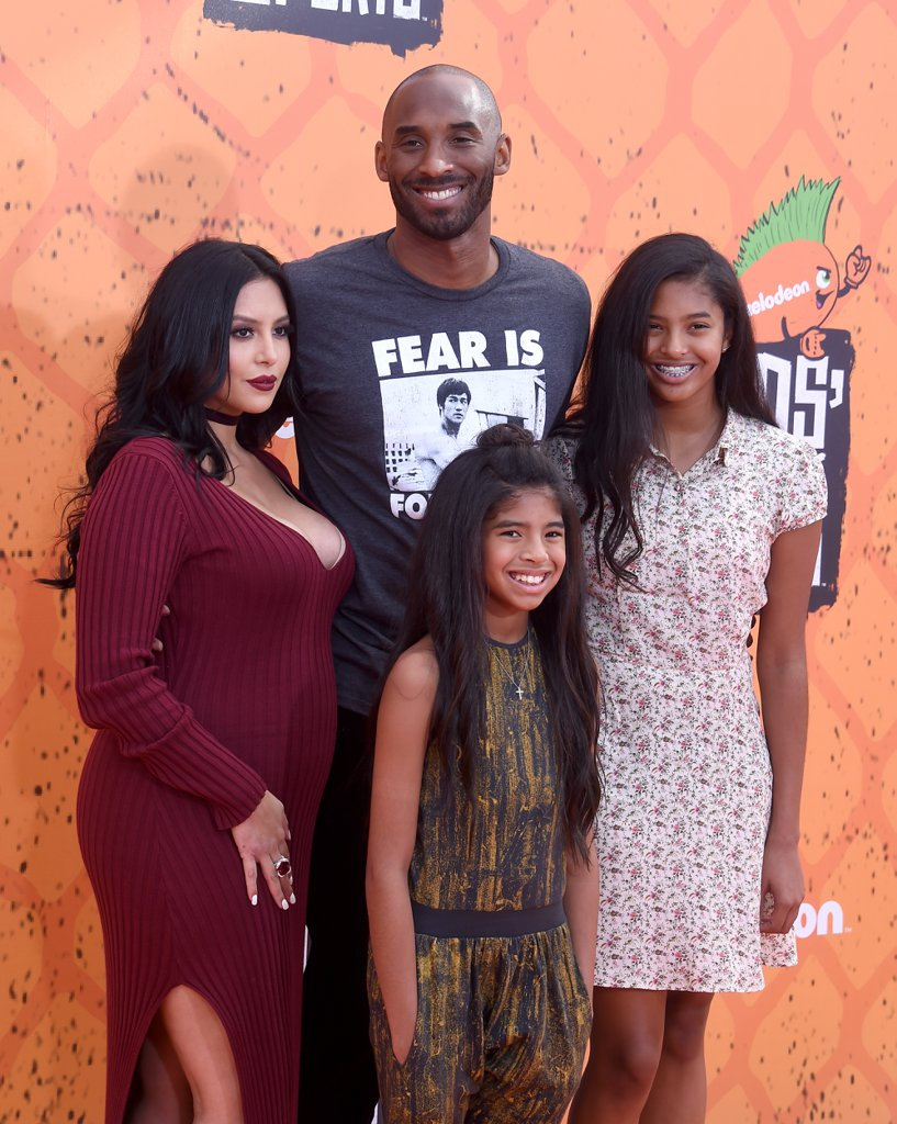 Kobe Bryant and Family