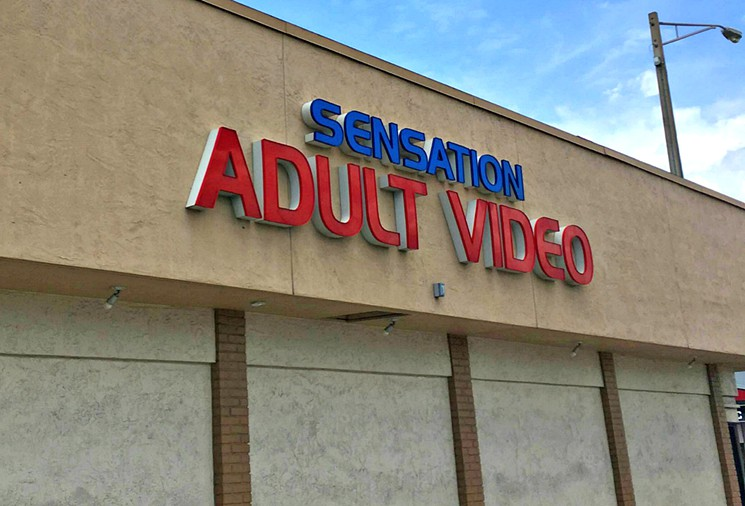 """The """"Adult"""" Video Store"""