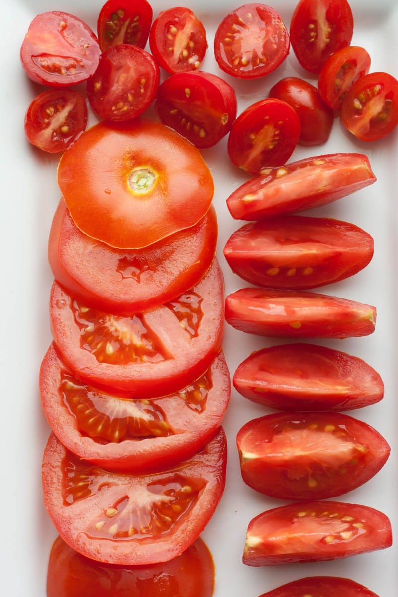 How To Cut Multiple Tomatoes At Once