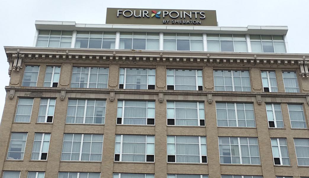 Four Point Sheraton Settled