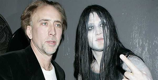 Nicolas Cage's Metal Head