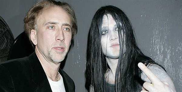 Nicolas Cage's Metal Head