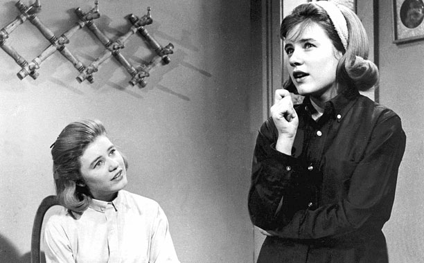 Patty Duke show bw