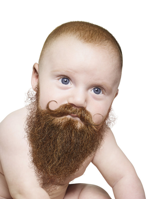 Portrait of Expressive baby