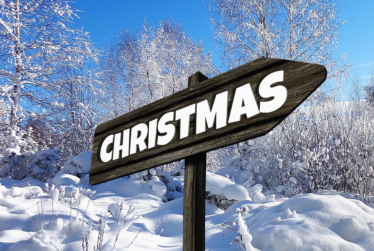 White Christmas Equals Free Car