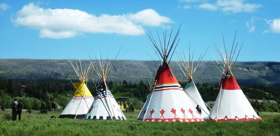 Cheyenne Reservation Teepee
