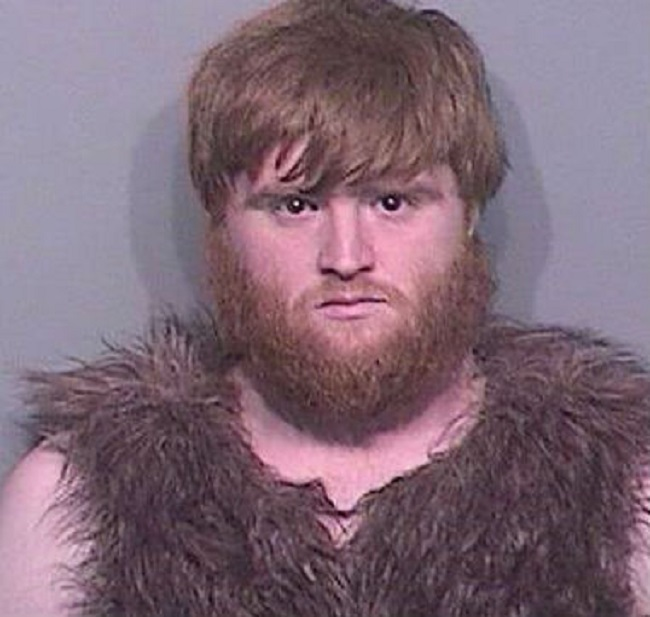 Caveman Arrested