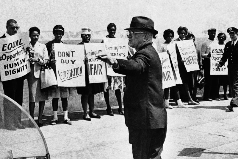 The Birmingham campaign began in Alabama