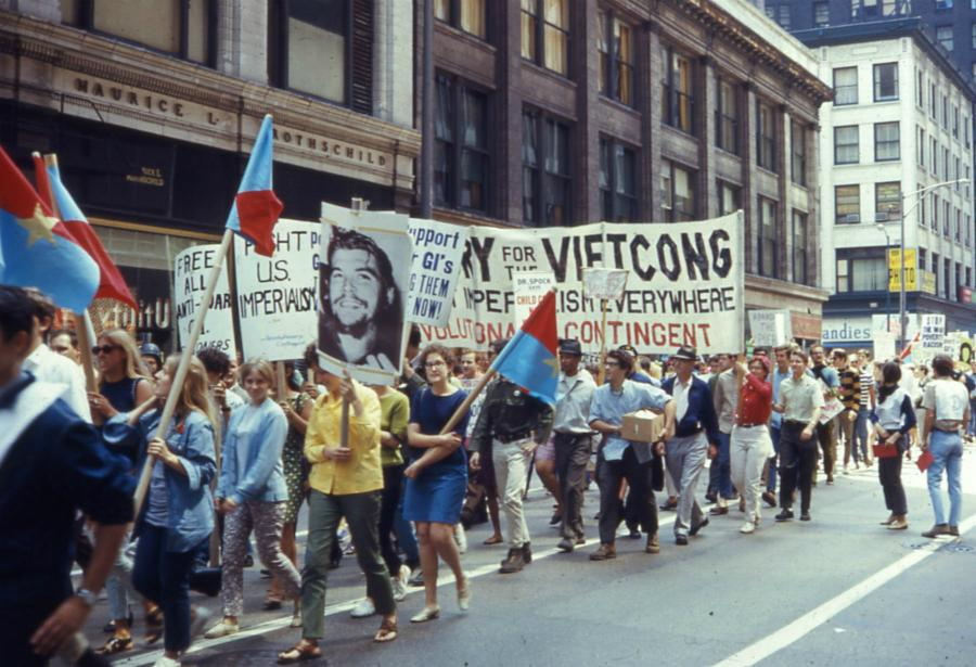 Anti-Vietnam Protest at the 1968 Democratic National Convention