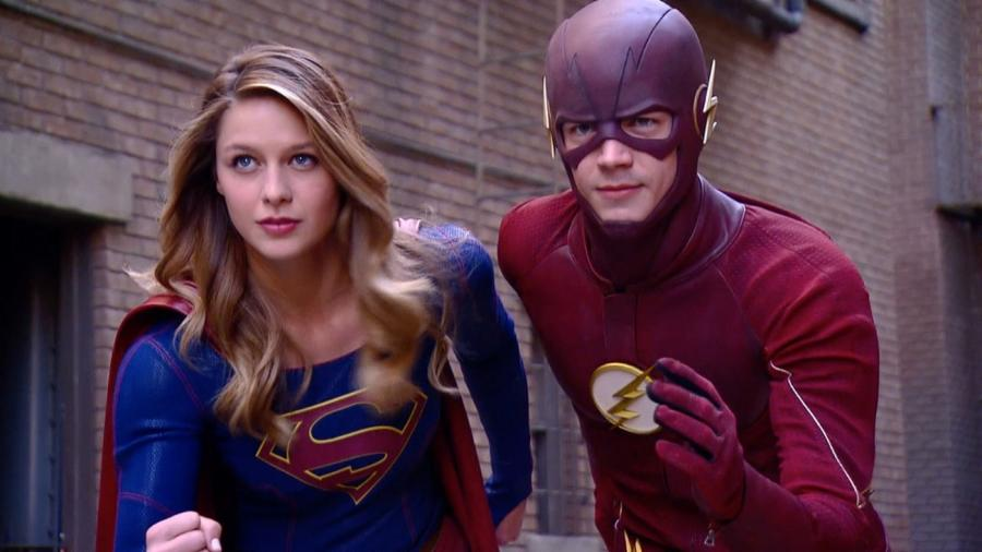 The Flash/Supergirl crossover