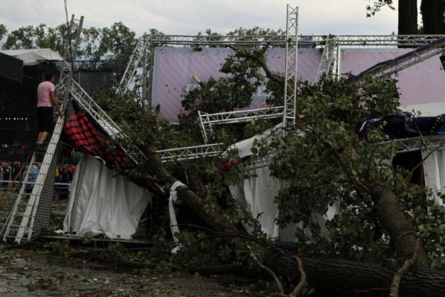 Pukkelpop Music Festival Stage Collapse
