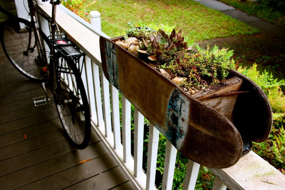Planter on the Deck