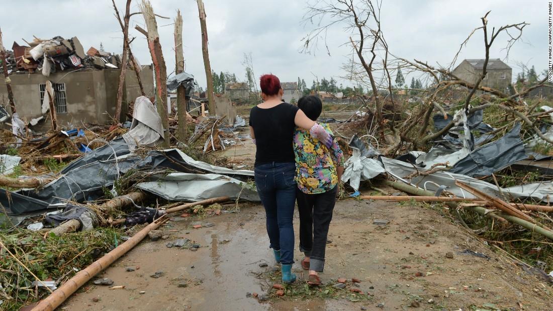 Yancheng, China: Tornado of Fear