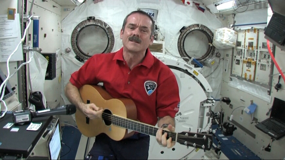 Ground Control To Colonel Hadfield