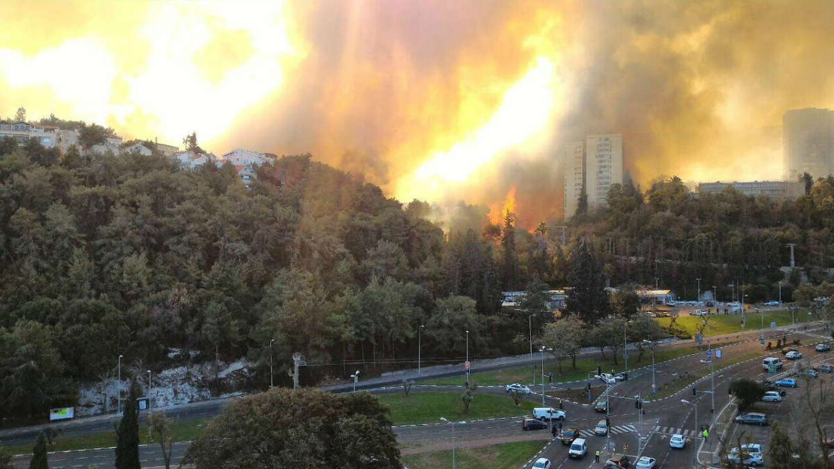 Israel on Fire: The Calamity of Heat and Smoke