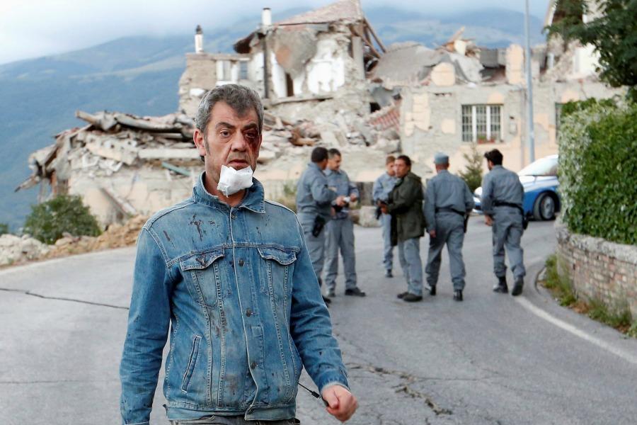 Amatrice Earthquake: The Horror at Their Feet
