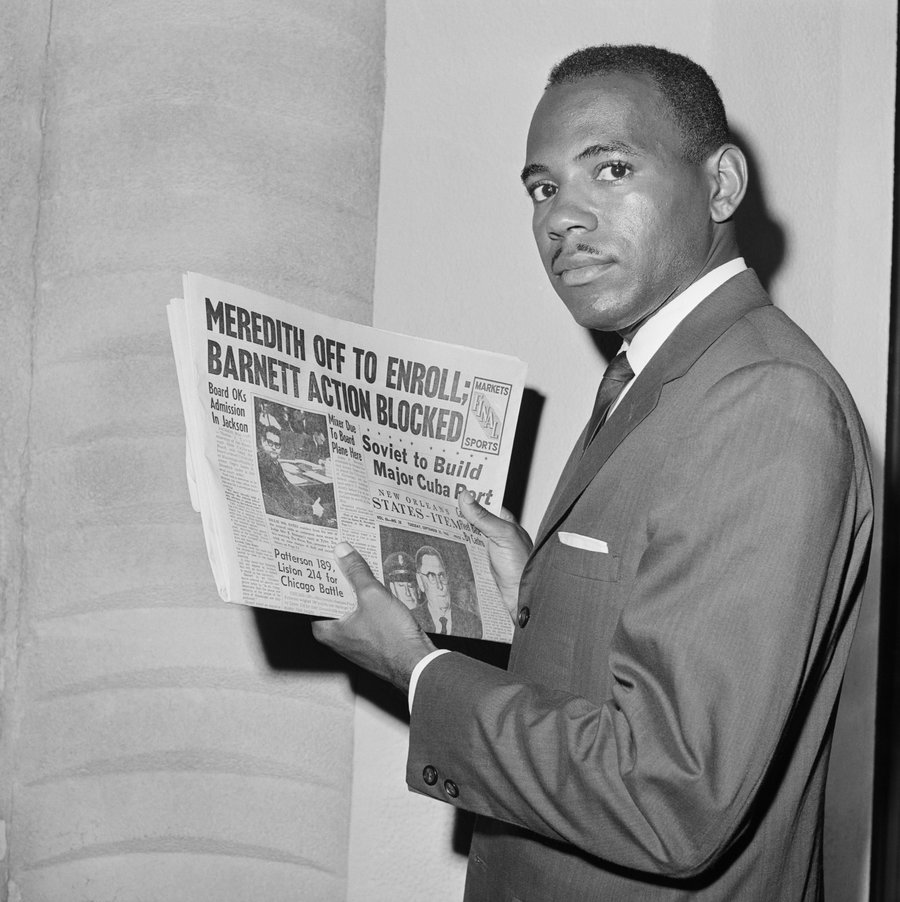 James Meredith allowed to attend college