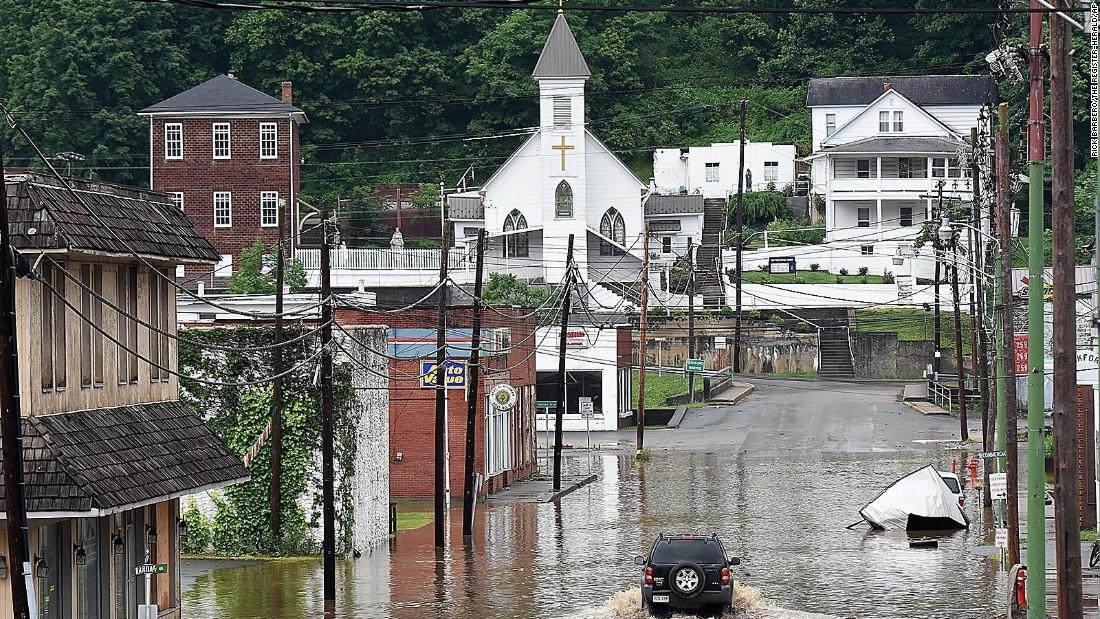 West Virginia Flooding: Washing Away Precious Lives