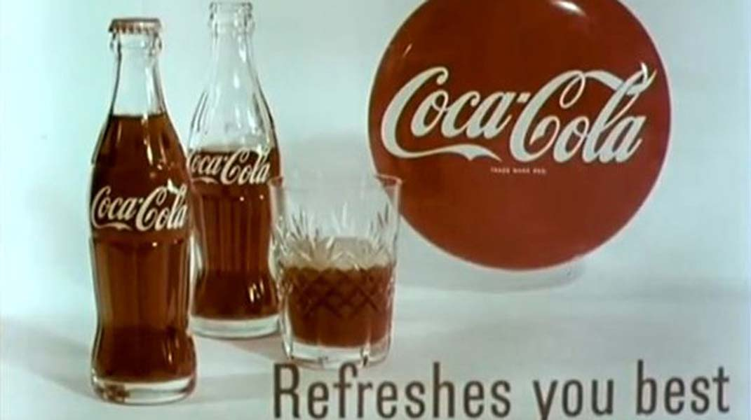 Coca-Cola Airs First Television Advertisement