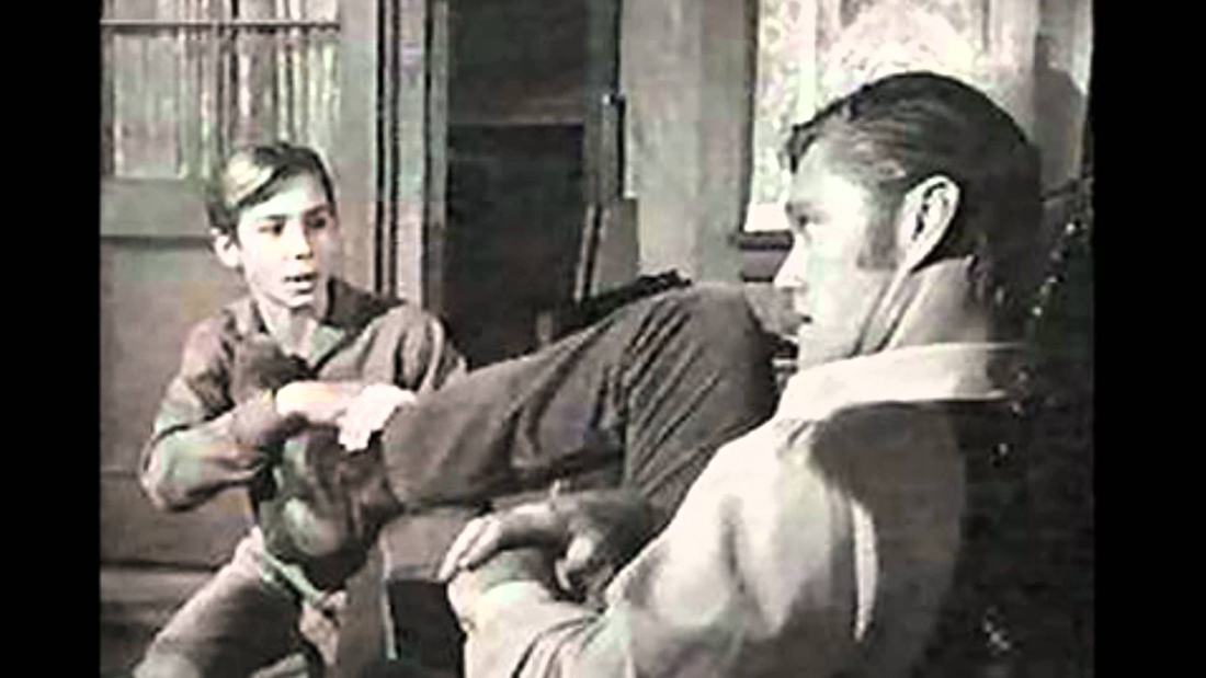 Chuck Connors' Relationship With Johnny Crawford
