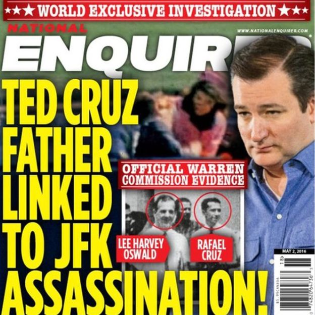 Ted Cruz's Father Assassinated Kennedy
