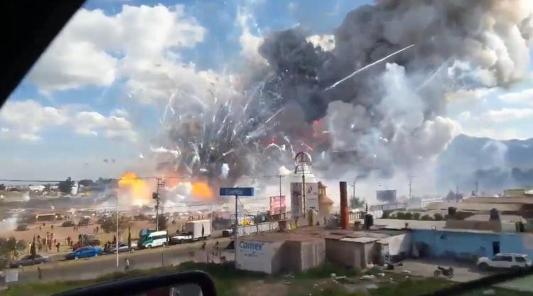 Fireworks Disaster