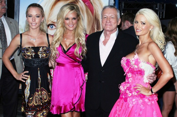 Hugh Hefner and Every Lady He's Been With
